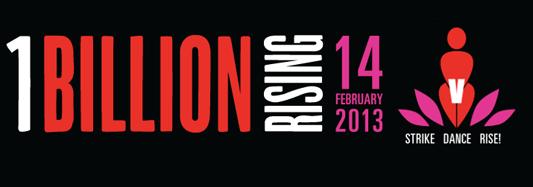 Associazione Puzzle alza il dito per One Billion Rising