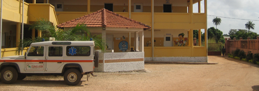 Prima missione in Guinea 2014: il racconto di Dionisio