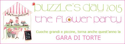 Mettete i fiori…sulle vostre torte per Puzzle's Day 2015