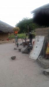 Uno scorcio del villaggio del dott. Dionisio Cumba