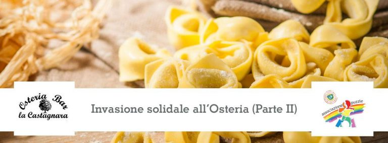 Invasione solidale, invasione di cuori all'Osteria