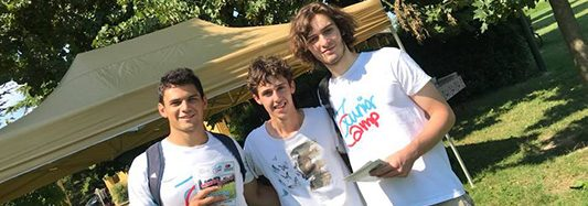 I ragazzi di Junior Camp