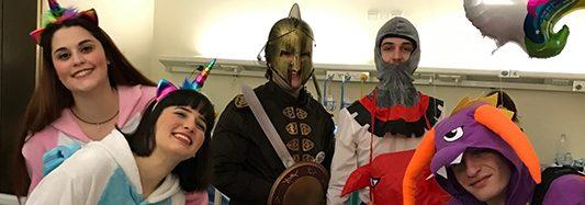 Unicorni, principesse, draghi e cavalieri invadono la Chirurgia Pediatrica!