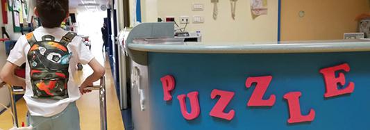 Puzzle a sostegno della formazione del personale della Chirurgia Pediatrica