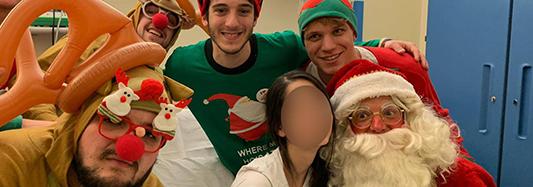 Un Natale speciale da renna solidale